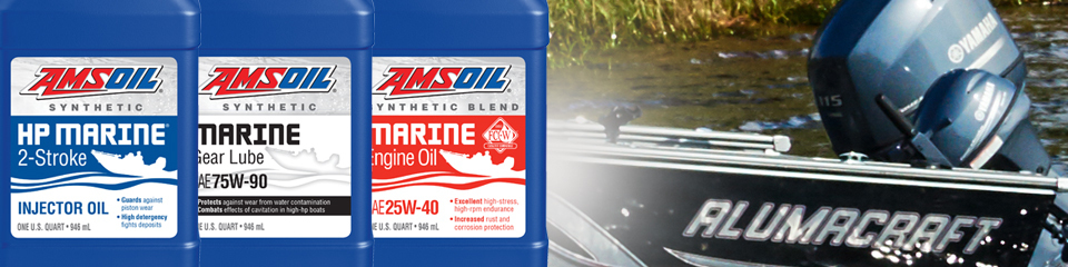 AMSOIL Marine Engine Oil